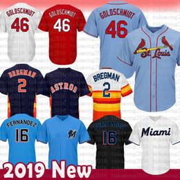 St louiS cardinalS online shopping - Mens Paul Goldschmidt Alex Bregman  Baseball Jersey St Louis Cardinals c480a9c80a75