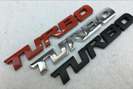 $enCountryForm.capitalKeyWord Australia - Metal Turbo Letter Stickers Emblem Badge For Chevy GMC SIERRA Tailgate Trunk Hood Bumper Tail Decal