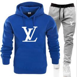 Women autumn Winter sWeatshirt hoodie set online shopping - Mens set sweatsuit Designer Tracksuit Men Women hoodies pants Mens Clothing Sweatshirt Pullover Casual Tennis Sport Tracksuits Sweat Suits