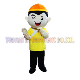 china shipping costume Australia - High quality China Boy Mascot Costume Carnival branch Parade Quality Clowns Halloween party activity Fancy Outfit Free Shipping