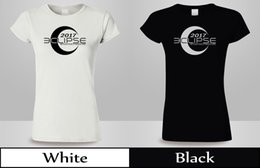 white unisex tshirt Australia - 2017 Solar Eclipse With Your City, State T-Shirt Womens Back&White Tee New 2Funny free shipping Unisex Casual Tshirt top