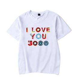 72f406b16 New Print The I Love You 3000 Times Short T Shirt Men Women Sleeve High  Quality Design Comfortable For Boys T-Shirt