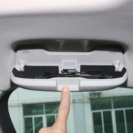 $enCountryForm.capitalKeyWord Australia - Car Styling Car Glasses Box Storage Holder Sunglasses Case For Audi A1 A3 A4 A5 A6 Q5 TT Q7 Q3 R8 S3 S5 S6 S7 Auto Accessories