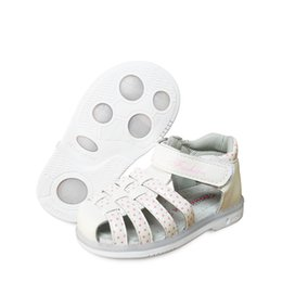 children leather sandals Canada - new 1pair Children Girl Leather Orthopedic Shoes, kids Fashion Sandals,New Design shoes