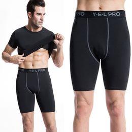 Base Layer Compression Shorts Australia - Free Shipping Mens Compression Gear Base Layer Shorts Gymnasium Bermudas Masculina De Marca Tights Size Xxl Pro Trousers