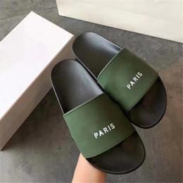 $enCountryForm.capitalKeyWord Australia - WITH BOX Fashion slide sandals slippers for men women Hot Designer unisex beach flip flops slipper BEST QUALITY