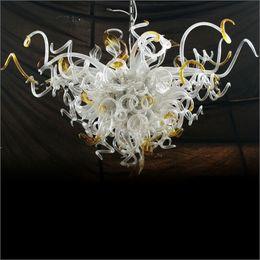 $enCountryForm.capitalKeyWord Australia - Art Design Frosted New Trending LED Pendant Light Turkish Style Art Decor Handmade Blown Glass Chandeliers for Ceiling