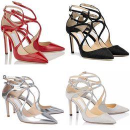 $enCountryForm.capitalKeyWord Canada - Womens 2019 Girl Designer High Heels Lancer Fashion Luxury 8 10 12 Cm Dress Office Party Wedding Crystal Shoes Size 36-42