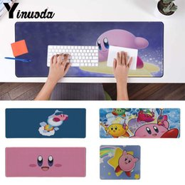 Free Mouse Games Australia - Maiya Custom Skin Kirby Locking Edge Mouse Pad Game Free Shipping Large Mouse Pad Keyboards Mat