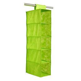 $enCountryForm.capitalKeyWord UK - 5 Tier Hanging Bag Clothes Garment Holder Closet Organiser Storage Wardrobe