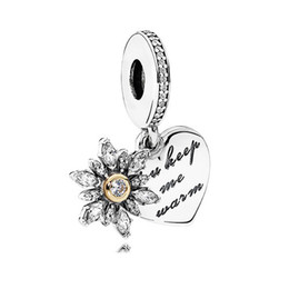 6a4d9f219 Mothers Day 925 Silver Mother & Daughter Hearts Pendant Charms Fits  European Pandora Style Jewelry Bracelets & Necklace 792072EN40 Mom Gifts