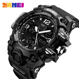 $enCountryForm.capitalKeyWord NZ - Watches Military Sports Men Top Brand Luxury Skmei Men's Quartz Digital Casual Outdoor 50m Waterproof Wrist Watch MX190725