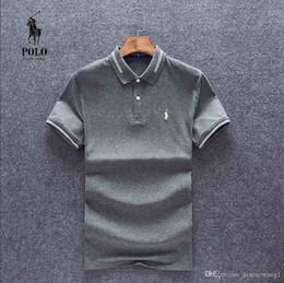 Ralph Polo Xxl Australia - Mens designer Polo Ralph Tshirt Lauren Best seller Luxury Top quality small logo T shirts Classic Street Breathable Round neck size M-XXL