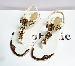 $enCountryForm.capitalKeyWord Australia - Hot Sale-2019 women sandals slide striped sandals with rubber sole with web rubber strap women fashion indoor flip flop