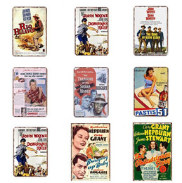 famous art posters 2019 - Metal Tin Sign Poster Famous people Plaque Bar Pub Club Cafe Home Plate Wall Decor Art Home Decor Vintage Celebrity Meta