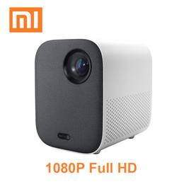 Mini Video Proyector Australia - 2019 Xiaomi Mijia Projector Youth Version Beamer Full HD 4K TV Video Proyector Portable 1080P DLP Mini Projector Cinema