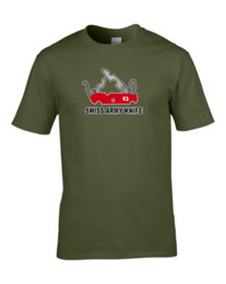 Free swiss army kniFe online shopping - SWISS CHEESE ARMY KNIFE cheese loving military parody T ShirtFunny Unisex Casual