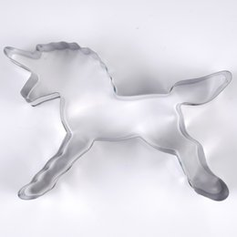 Moulding Cutters Australia - Unicorn Horse Cookies Cutter Mold Cake Decorating Biscuit Pastry Baking Mould Free Shipping