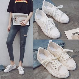 $enCountryForm.capitalKeyWord Australia - 2019 Ladies Casual Shoes Flat White Shoes Summer Women's Hollow Design Comfortable Breathable Fashion