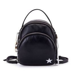 $enCountryForm.capitalKeyWord UK - good quality 2019 Famous Brand Women Backpack Vintage Genuine Leather Double Shoulder Bag Women Leisure Black Satchel Girl Backpack