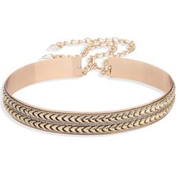 $enCountryForm.capitalKeyWord NZ - Liaomiufu New Arrival Tide Metal Mirror Chain Endurably 3.5cm Wide Belt Gold Women Fashion Apparel Accessories Belts For Women Y19070503