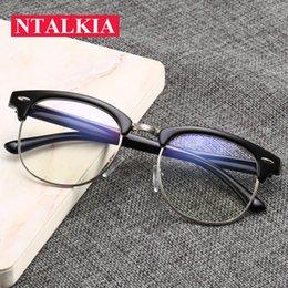 $enCountryForm.capitalKeyWord NZ - Fashion Square Frame Eyeglasses Blue Light Blocking Glasses Anti Blue Radiation Lens Women Mens glasses frames