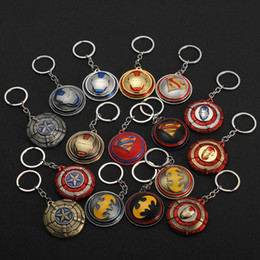 $enCountryForm.capitalKeyWord Canada - 14 Style Marvel Avengers Series Keychain Batman Mask Metal Key Rings Superhero Keyrings Travel Souvenirs Gift