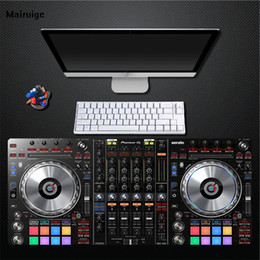 Large game mouse pad online shopping - Print DJ Keyboard Mouse Pad PC Computer Game Player Pad Natural Rubber Large Size Pad