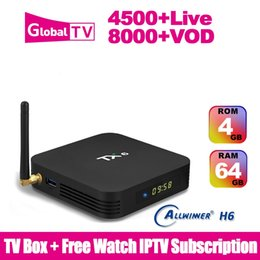 $enCountryForm.capitalKeyWord Canada - TX6 IPTV Box 4GB 64GB Allwinner H6 Android 9.0 4K BT5.0 With 4500+ Live Iptv Subscription Smart TV Box Media Player