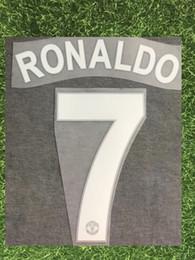 $enCountryForm.capitalKeyWord Australia - 2008-2011 #7 RONALDO NAMESET Name Number Set Printing Flocking Heat Transfer Soccer Patch Badge