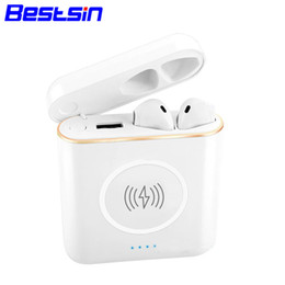 Mixed banking online shopping - Bestsin XT6 in Stereo Bluetooth Headset Wireless charger with the charger box Externe Battery Power Bank For Iphone xsmax