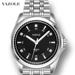 $enCountryForm.capitalKeyWord Australia - Yazole Wrist Watch Man Male Surface Noctilucent Waterproof Steel Bring Quartz Wrist Watch