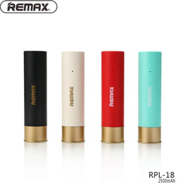 Discount battery power usb output - Remax WK RPL-18 2500mAh Power Bank External Battery Bank Fast Charge Powerbank with Dual USB Output for Phone External B