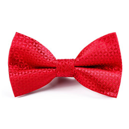$enCountryForm.capitalKeyWord Australia - Unique Men's Bow Tie Suit Dress Red Black Blue Black Bow Tie Business Wedding Groomsmen Prom Banquet Necktie Bowtie Mens Gifts