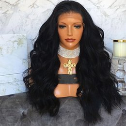 $enCountryForm.capitalKeyWord Australia - 100% unprocessed virgin human hair body wave best new natural color full lace wig for women