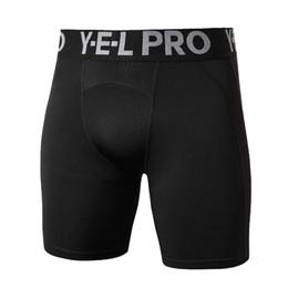 Men Thermal Compression Shorts Australia - Men Compression Shorts Base Layer Thermal Skin Bermuda Shorts Gyms Fitness Men Cossfit Bodybuilding Tight