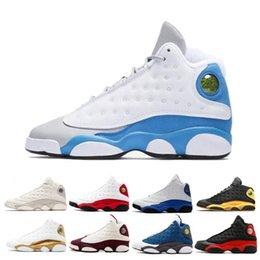 ac89f562f36 13 13s Mens Basketball Shoes Phantom Chicago Black Cat Bred Pure Money Navy  Wheat Hyper DMP He Got Game Grey Toe sports sneakers