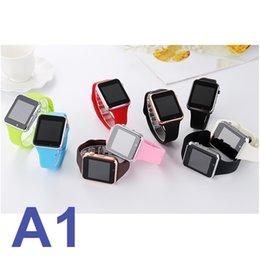 $enCountryForm.capitalKeyWord Australia - A1 smart watch Bluetooth smartwatch wearable TF sim smart watch with camera for samsung iphone