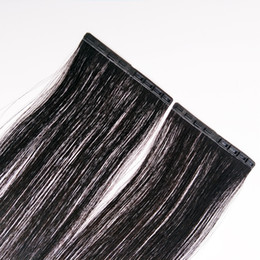 Wholesale Snap Button Skin Weft Tape In Human Hair Extension Clip In Hair 14-24inch Easy To Wear And Disassemble New Product 20Pcs