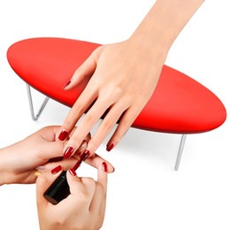 $enCountryForm.capitalKeyWord Australia - Leather Nail Art Hand Pillow Hand Arm Rest Holder Cushion Washable Table Mat Manicure Tool Nails Design For Nail Salon T190624