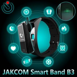 waterproof 3g smart phone watch Canada - JAKCOM B3 Smart Watch Hot Sale in Smart Watches like bowling souvenir cap camera 3g bf mp3 video