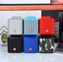 Mobile Flashing Boxes Australia - Wireless bluetooth speaker support FM card usb flash drive low-cost gifts new mobile phone stand mini audio
