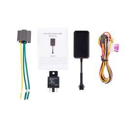 Tracker Coban Australia - long battery GPS vehicle tracker GPS108 TK108 coban original Free APP platform for realtime tracking move alarm GPS no box ship