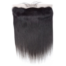 $enCountryForm.capitalKeyWord Australia - Fashion Natural Star Style Can Be Hot Dyed Real People Shiny Smooth Supple Black Straight Hair Lace Accessories