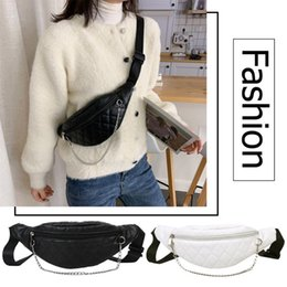 chest pouches Australia - Fashion PU Leather Chest Belt Bag Bolsas Feminina Mujer Women Solid Color Fanny Money Phone Pouch Casual Crossbody Shoulder Pack