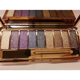 beauties factory palette NZ - Factory Eyeshadow 9 Color Glitter Makeup Pallete Matte Eye Shadow Palette Shimmer Shine Making Up Beauty Eyeshadows Tray Free Fast Ship