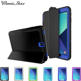 SamSung S2 Screen protector online shopping - Smart Case for Samsung Galaxy TabE T560 TabA T580 T590 S2 T710 S3 T820 Business Flip shockproof case sleep wakeup With Screen Protector