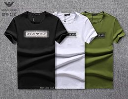 Plain Round Neck T Shirts NZ - T shirts men plain black Pity Pure Cotton Short Sleeve T Man Round Neck Rendering Unlined Upper Garment Men's Wear graphic