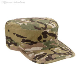 997e9f98b56 Multifunctional Camouflage Military Octagon Combat Soldier Training Hat  Outdoor Fishing Hiking Hat Mens Male Sun Protection Caps