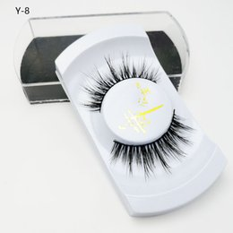 eyelash wholesalers china NZ - Custom individual eyelash hot selling wholesale price 100% mink eyelashes alibaba china wholesale false eyelashes mink lashes